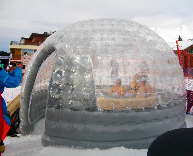 Abri de spa gonflable pour spa ou jacuzzi capte riviera - Abri spa gonflable ...